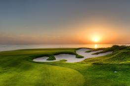 نادي الموج ثاني أفضل ملعب جولف في الشرق الأوسط