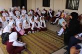 """""""مكتبة السندباد"""" تشارك .. """"تعليمية الظاهرة"""" الاحتفال باليوم العالمي للغة العربية"""