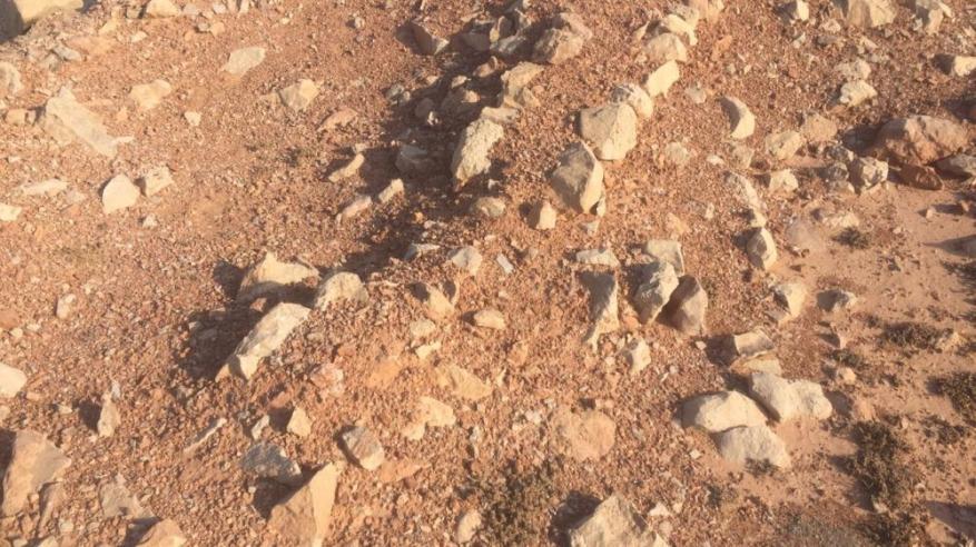 بعض الاثار التاريخية بموقع جبل الحوراء
