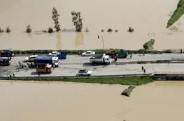بالفيديو.. استنفار في إيران بسبب الفيضانات القاتلة