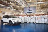 """""""فيات"""" تسجل رقما قياسيا بإنتاج السيارة رقم 500,000 من طراز """"500X"""""""