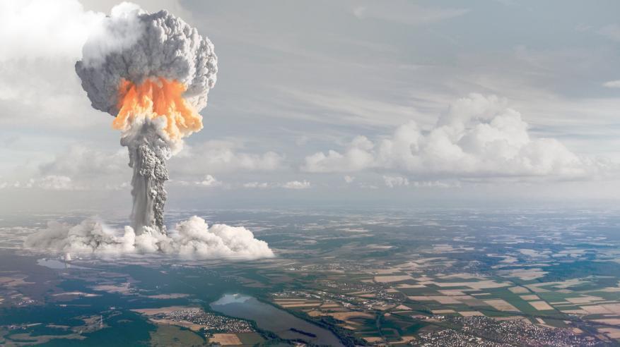 محاكاة سقوط قنبلة نووية على واشنطن