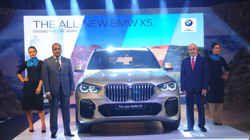 Oman welcomes BMW X5 3