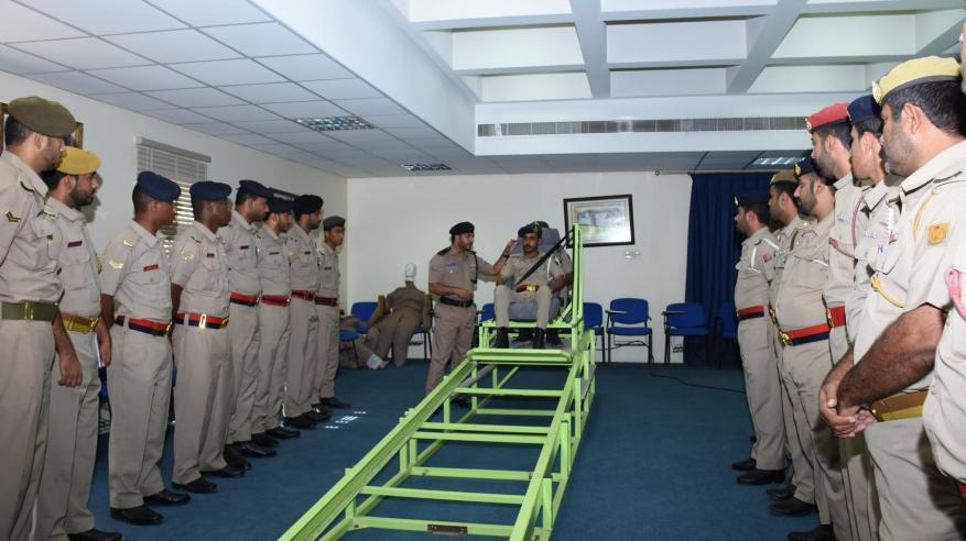 معهد السلامة-جانب من استقبال الجيش