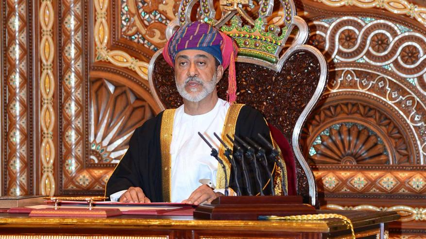جلالة السلطان هيثم بن طارق آل سعيد يؤدي القسم سلطانا لعُمان
