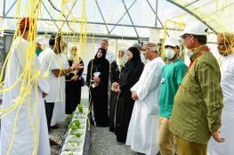 المدرسة الفكرية تفتتح مشروع الزراعة المائية