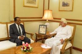 بن علوي يودع سفير إثيوبيا
