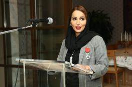 الشيخة هند سهيل بهوان تنال أعلى وسام من الجمهورية الفرنسية