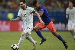 """كولومبيا تحقق انتصارا للتاريخ على حساب الأرجنتين بـ""""كوبا أمريكا"""""""