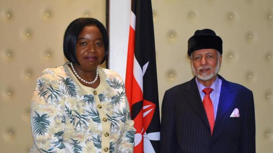 مباحثات عمانية كينية لتطوير التعاون المشترك