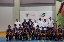 ختام ناجح لبطولة كلية الخليج لكرة السلة