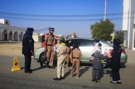 مركز شرطة صحم ينفذ برنامجا توعويا بمدرسة شواطئ المعرفة