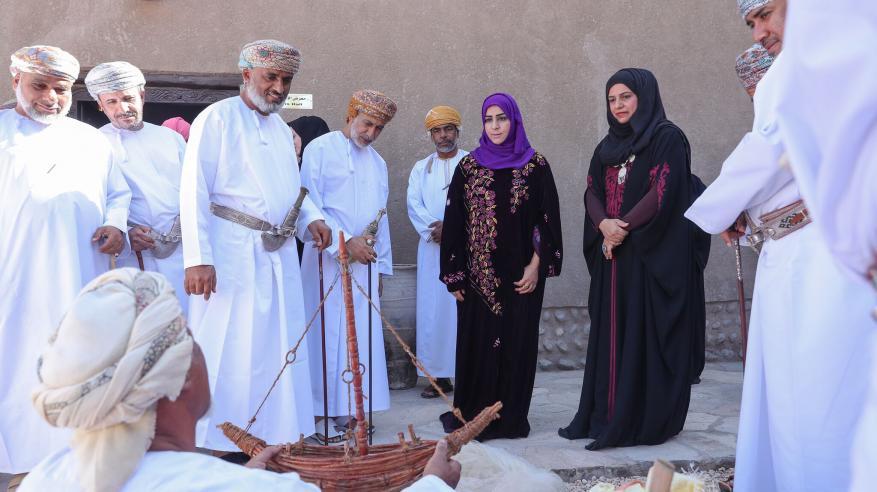 صناعات حرفية ومشغولات يدوية في احتفال متحف بيت الغشام بعامه الأول