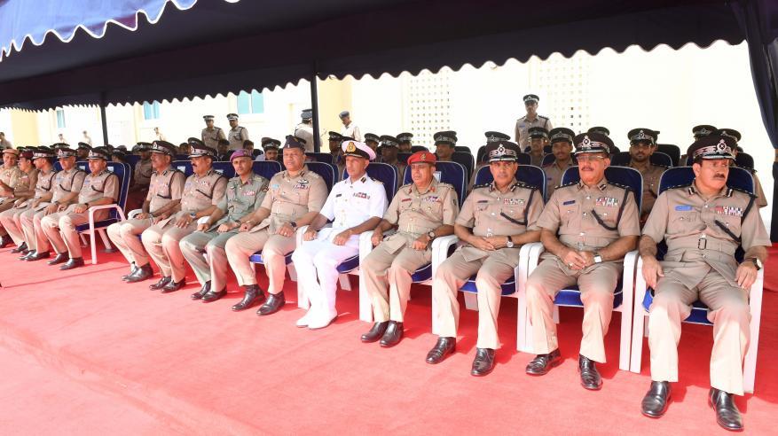 شرطة عمان السلطانية تحتفل بافتتاح مركز شرطة ثمريت3