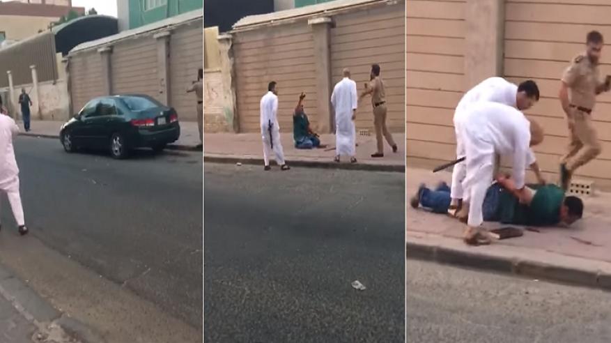 بالفيديو.. مصري يجري في شوارع الكويت بعد قيامه بقتل زوجته