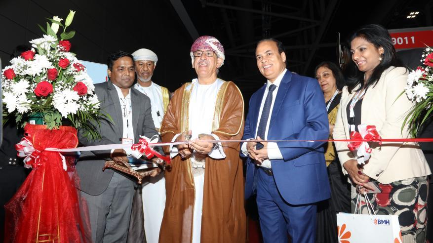 جناح كيرالا يحظى بإقبال كبير في معرض عُمان للصحة