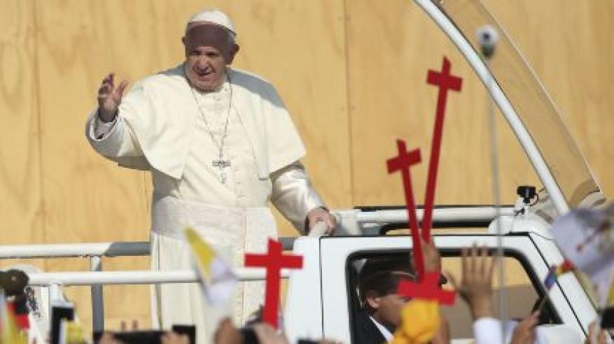 بالفيديو... الاعتداء على بابا الفاتيكان في تشيلي