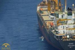 بالفيديو.. لفتة طيبة من السعودية تجاه سفينة إيرانية