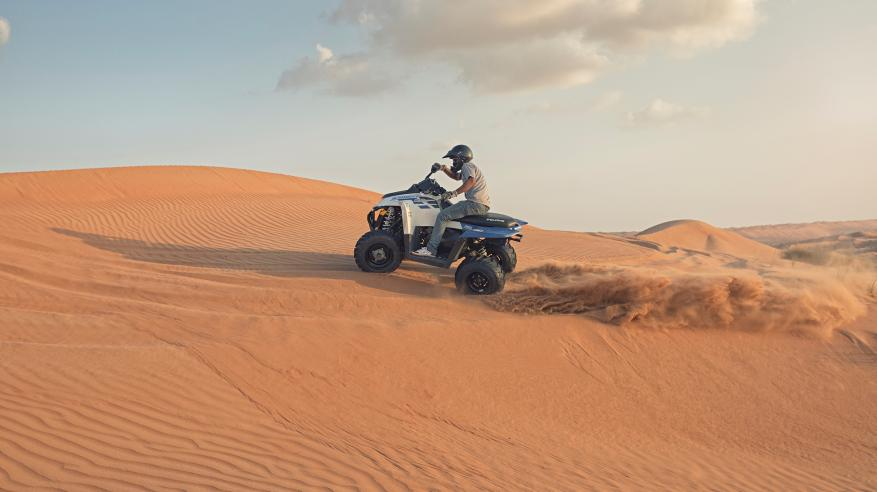 Sharqiyah Sand - Quad Biking