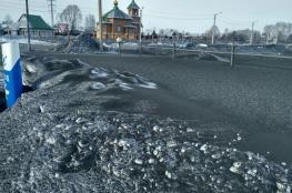 بالفيديو.. الثلوج في سيبيريا تتحول إلى اللون الأسود
