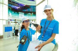 بالصور.. الأطفال يتولون عمليات مطار مسقط الدولي في اليوم العالمي للطفل