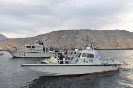 خفر السواحل ينفذ تمرينا وهمياً ويقدم المساعدة لخمسة مواطنين