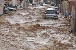 بالفيديو.. السيول الجارفة تقتل 9 أشخاص في الأردن
