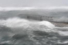 إعصار قوي يقترب من جنوب اليابان