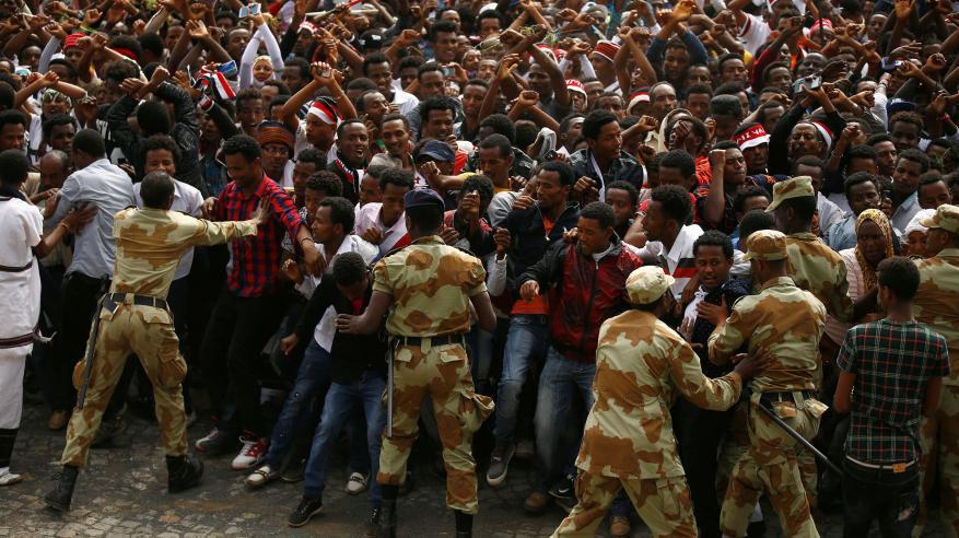 إثيوبيا تتهم مصر وإريتريا بالوقوف وراء موجة الاحتجاجات العنيفة
