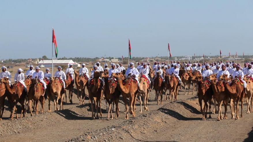 انطلاق مهرجان النعيمي الـ19 لعرضة الهجن والخيل في صحم .. الأربعاء