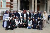 رحلة طلاب جامعة السلطان قابوس تصل المملكة المتحدة