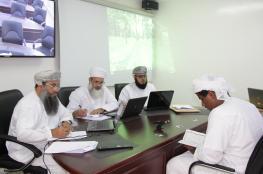 اختتام تقييم طلبة الوسطى بمسابقة القرآن الكريم