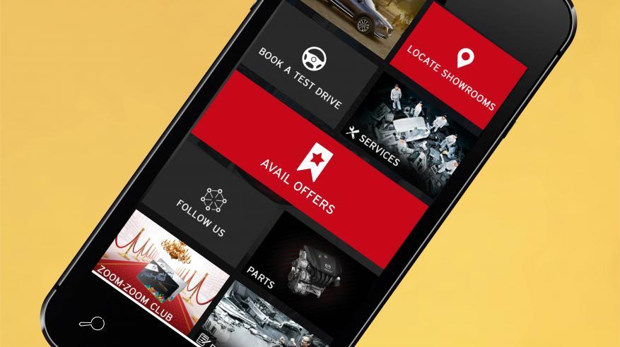 """تطبيق """"مازدا"""" يسهل حجز تجربة القيادة والاطلاع على العروض الجديدة"""