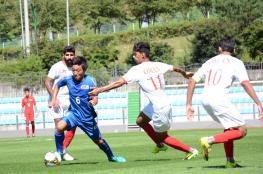 """""""الأحمر الجامعي"""" يتعادل إيجابياً مع الساموراي في البطولة الآسيوية"""