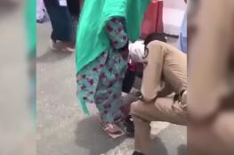 بالفيديو.. رجل أمن سعودي يشعل مواقع التواصل