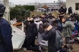 شاهد.. فيديو صادم يثير الجدل في فرنسا