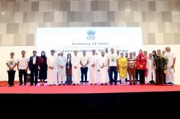 6 آلاف من عشاق اليوجا يمارسونها في اليوم العالمي بمركز عمان للمؤتمرات