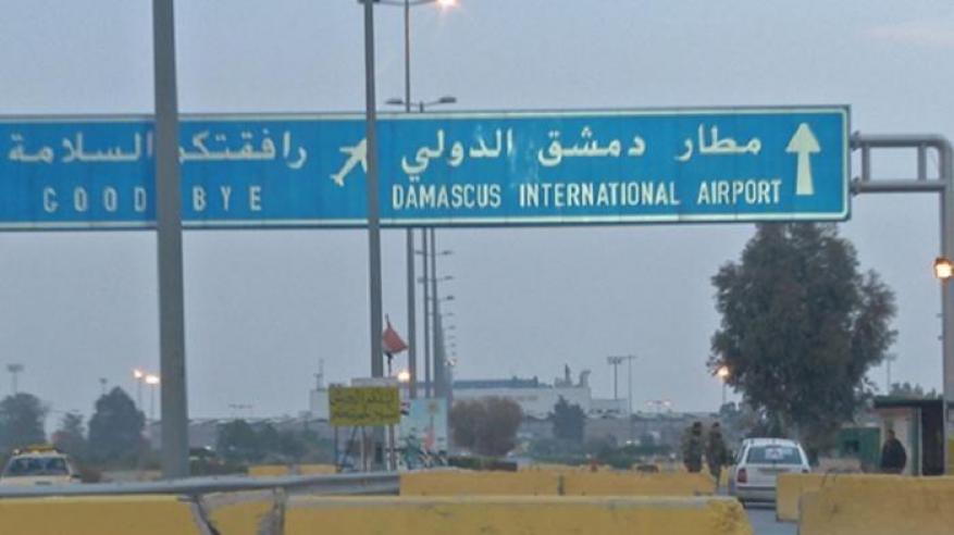 قصف إسرائيلي لمطار دمشق الدولي