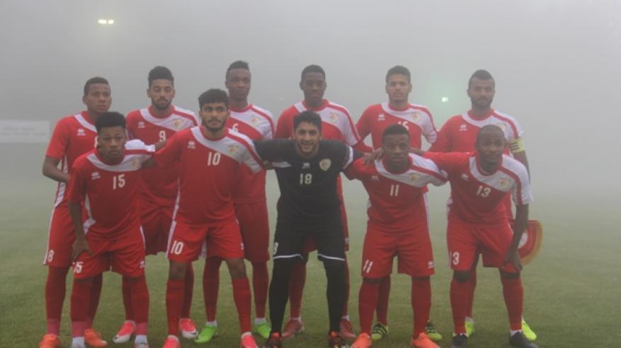 الأحمر الأولمبي يواجه فريق النصر السعودي اليوم