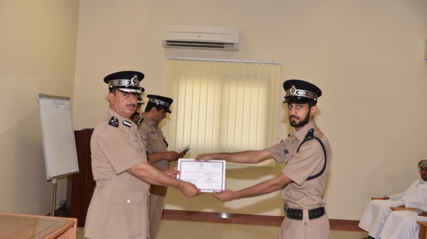اختتام دورة حوسبة مراكز الشرطة بقيادة شرطة محافظة مسندم