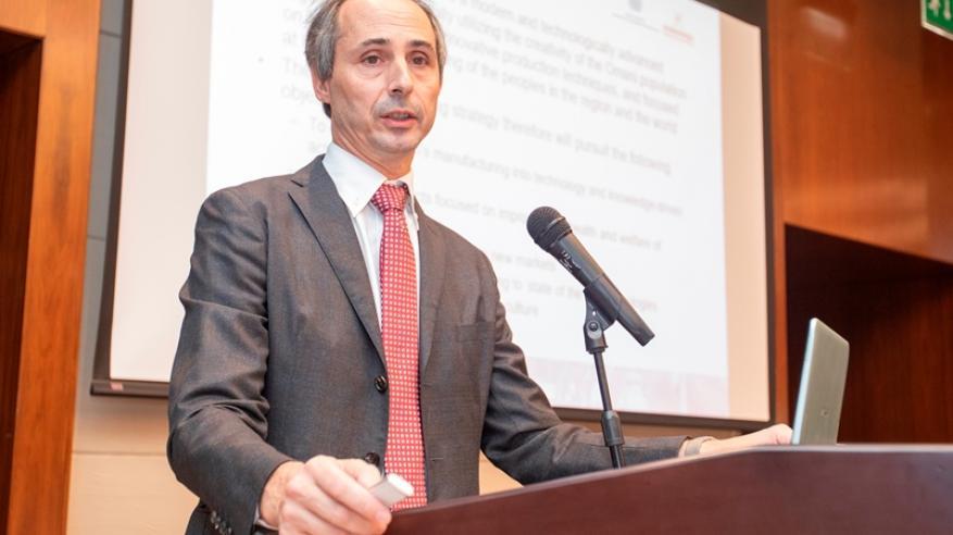 ميشيل كلارا من منظمة الأمم المتحدة للتنمية الصناعية
