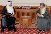 السيد فهد يستعرض تعزيز أوجه التعاون المشترك بين السلطنة وقطر