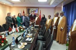 وفد مجلس الدولة يطلع على تجهيزات ميناء طنجة بالمغرب