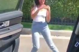 """بالفيديو.. صدمة لفتاة عربية بسبب رقصة """"كيكي"""""""