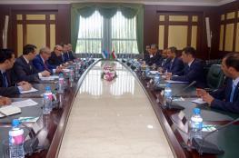 """أمين عام """"الخارجية"""" يستعرض تعزيز التعاون في ختام زيارته لأوزبكستان"""