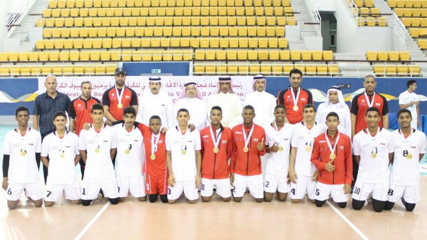 منتخب البراعم للكرة الطائرة يحقق المركز الثاني في مهرجان البراعم الثاني بالبحرين