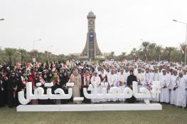 فقرات موسيقية وعروض للخيالة باحتفال جامعة السلطان قابوس بالعيد الوطني