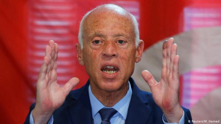 نتائج أولية تظهر فوز قيس سعيد برئاسة تونس