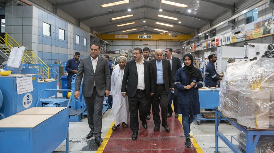 """وفد اقتصادي إيراني يطلع على فرص الاستثمار في """"مدائن"""""""