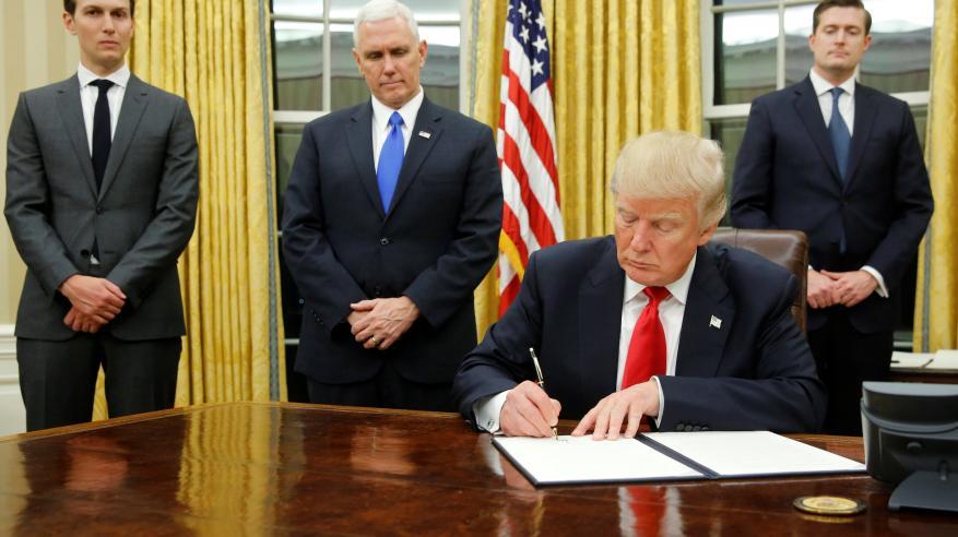 انسحاب أمريكا من اتفاقية التجارة عبر المحيط الهادئ